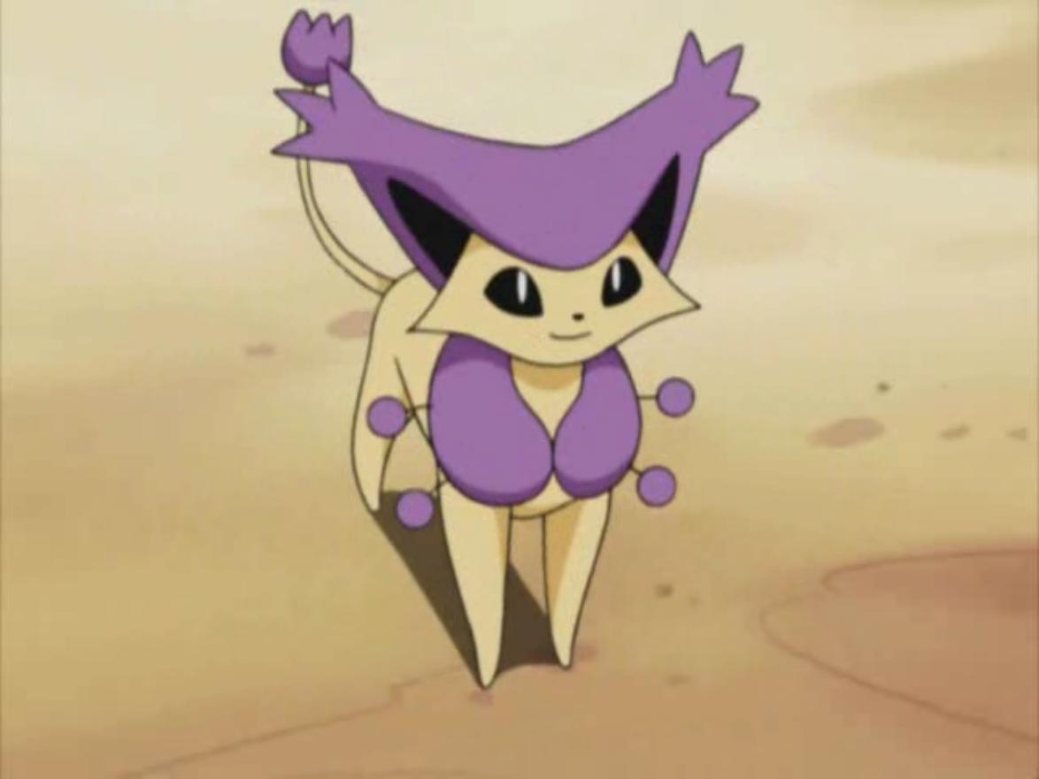 Delcatty is Georgio's main Pokémon.