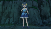 Dawn star and moon performance outfit