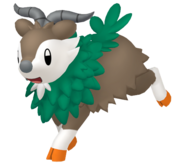 672Skiddo Pokémon HOME