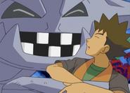Brock and Steelix