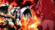 N and Reshiram anime