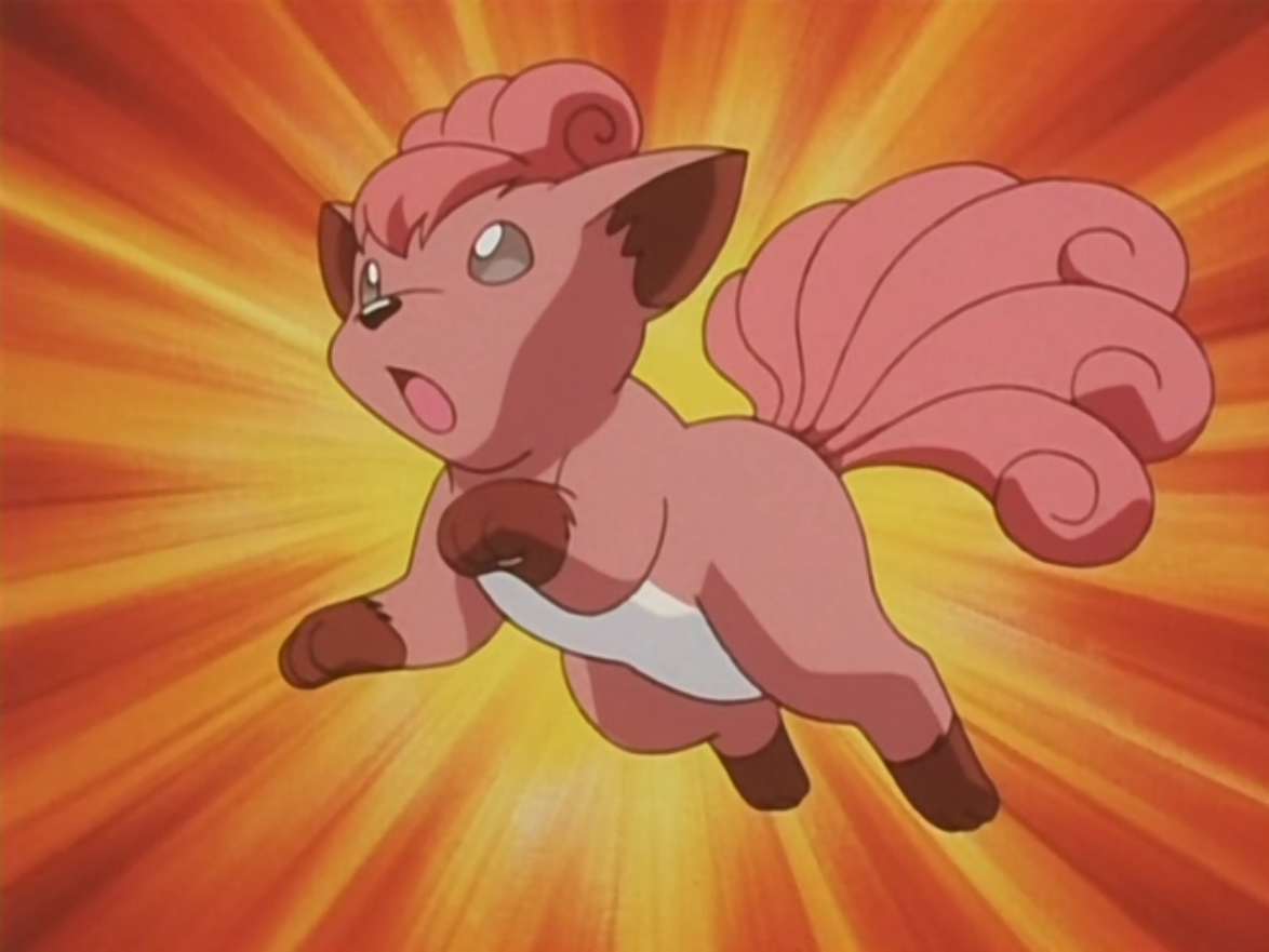 Vulpix was an incredibly particular Pokémon, only eating food that either it's original trainer, Suzie, or Brock made. Through seeing the care that Brock went into in looking after Pokémon, she decided to let Brock look after it. Vulpix, while a little spoiled, did enjoy playing about with the other Pokémon. Eventually Brock met up with Suzie again and decided that Suzie should keep Vulpix again.