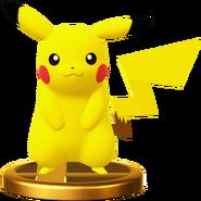 피카츄 피규어 Wii U