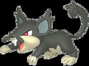 019Rattata Alola Pokémon HOME