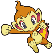 390Chimchar DP anime 7