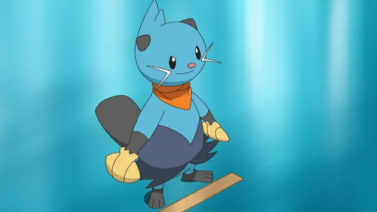 Caesar is Cadbury's Dewott, who participated in the Scalchop Tournament and won the heart of Osharina.