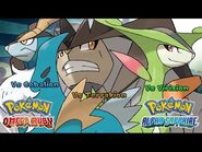 Pokemon Omega Ruby-Alpha Sapphire - Battle! Cobalion-Virizion-Terrakion Music (HQ)