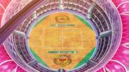 Wyndon Stadium Battlefield anime