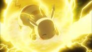 Ash Pikachu Thunderbolt M20