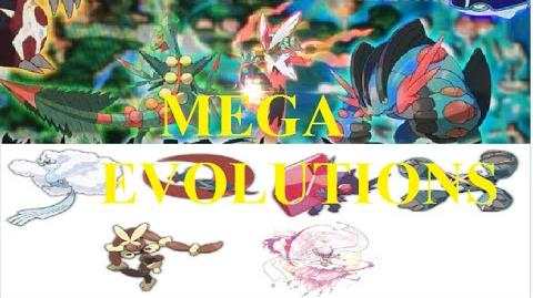 MEGA EVOLUTIONS from Pokemon RUBY and SAPPHIRE!!