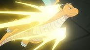 Iris Dragonite Thunder Punch