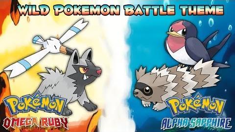 Pokemon Omega Ruby & Alpha Sapphire OST - Wild Pokemon Battle Music Extended
