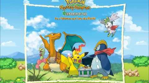 Pokemon- Mystery Dungeon Explorers of Sky- Time Gear- Music-0