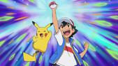 Ash catches a Pokémon JN
