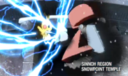 Red's Pikachu Iron Tail Generations