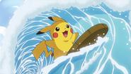 Surfing Pikachu BW087