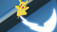 Ash Pikachu JN Iron Tail