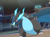 Ash's Mega Charizard X