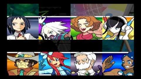 Pokemon Black and White 2 Gym Leader's Last Pokemon Theme extended