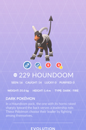 Houndoom Pokedex