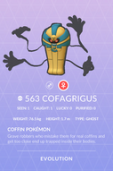 Cofagrigus Pokedex