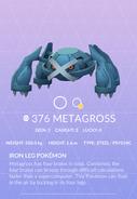 Metagross Pokedex