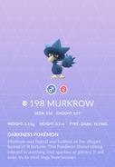 Murkrow Pokedex