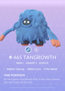 Tangrowth Pokedex