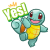 Sticker Funwari Squirtle