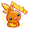 Sticker Funwari Torchic