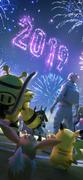 New Year 2019 loading screen