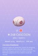 Cascoon Pokedex