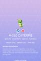 Caterpie Pokedex