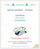 Raid invitation template