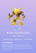 Alakazam Pokedex