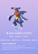Garchomp Pokedex