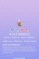 Weedle Pokedex