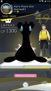 Lapras render failure