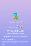 Shellos East Pokedex