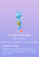 Kingdra Pokedex