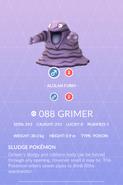 Grimer Pokedex