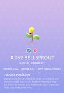 Bellsprout Pokedex
