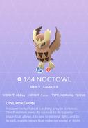 Noctowl Pokedex