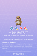 Patrat Pokedex