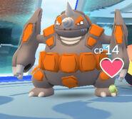 Gym Pokémon rendering failure