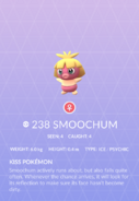 Smoochum Pokedex