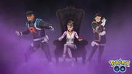 Team GO Rocket Leaders promo