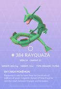 Rayquaza Pokedex