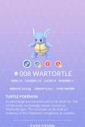 Wartortle Pokedex