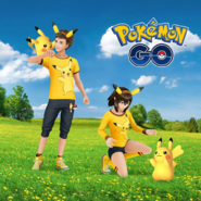 Pikachu Fan clothes promo